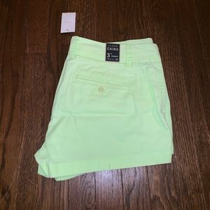 """JCREW 3"""" Chino Shorts Never Worn with tags"""